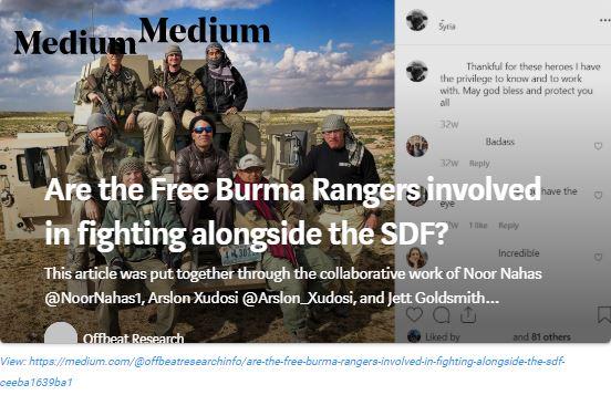 medium piece free burma rangers