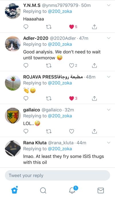 tweet responses laugh at turkish rumors 3 11-25-19