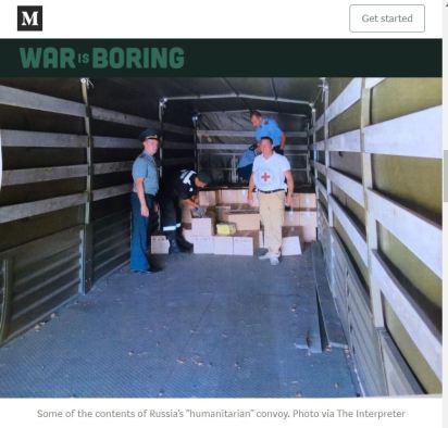 war is boring russia humanitarian aid