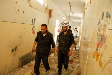 aleppo school bombing old