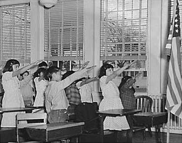 bellamy salute usa ppledge allegiance