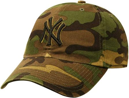 yankees camo hat