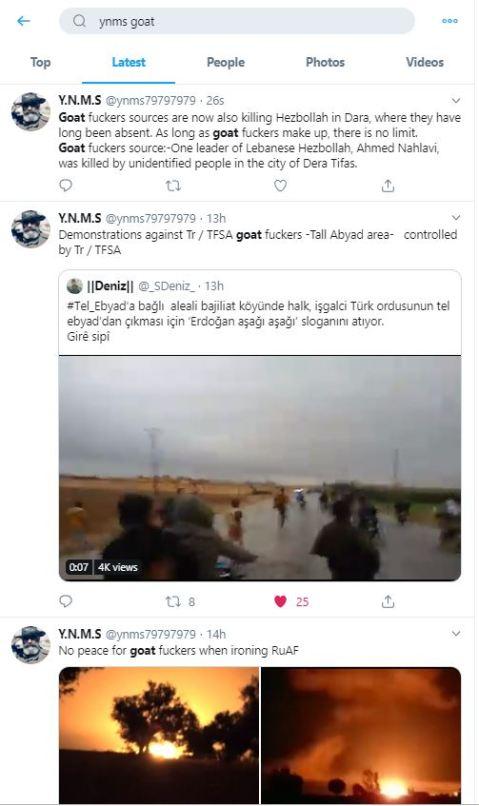 ynms goat fucker tweets